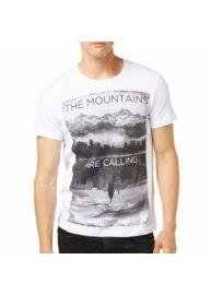 Tom Tailor Denim 1032725 00 12 2000 fehér férfi mintás póló