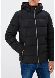 Tom Talior 3555323 00 10 2999 Férfi fekete pufi funkcionális dzseki
