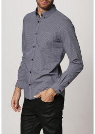 Tom Tailor 2019923 00 10 1000 fekete-fehér férfi ing