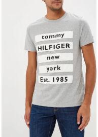 Tommy Hilfiger MW0MW08342 501 Férfi szürke póló