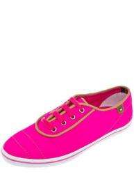 Tommy Hilfiger FW56816886 385 Vivien fuchsia neon rózsaszín vászon Női cipő