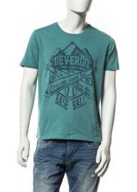 Devergo' 1D514017SS0106 17 zöld férfi kerek nyakú póló