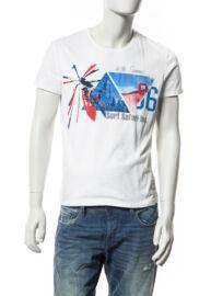 Devergo' 1D504056SS0104 fehér férfi póló