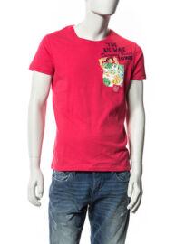 Devergo' 1D514002SS0104 Hawaii mintás férfi póló