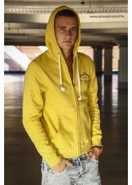 No Excess 67 131051 070 Kivi cipzáros kapucnis sárga pulóver