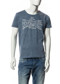 Devergo' 1d514029ss0123 38 fekete denim póló