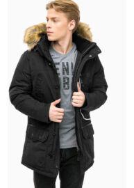 Tom Tailor 3533479 00 10 2990 Férfi Fekete téli kabát