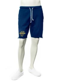 Devergo 1d611102MP0704 Sötétkék férfi pamut rövidnadrág