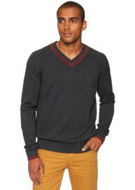 Tom Tailor 3018172 90 10 2572 kötött v nyakas pulóver