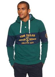 Tom Tailor 2528186 90 10 Zöld Férfi Pulóver