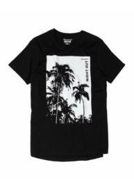 Devergo 1D014009SS0105 16 Férfi fekete oversize póló