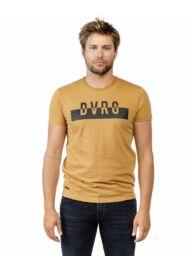 Devergo 1D20FW4068SS0105 50 Férfi mustár színű rövid ujjú póló