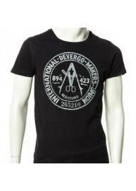 Devergo 1D614050SS0106 16 Férfi fekete póló
