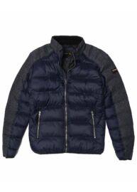 Devergo 1D923001KA1600 14 Férfi sötétkék-szürke téli kabát