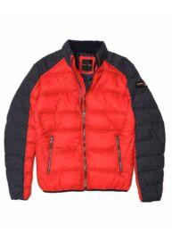 Devergo 1D923001KA1600 39 Férfi piros-szürke téli kabát