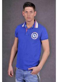 Devergo 403 5 galléros színes férfi póló