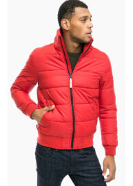 Tom Tailor denim 3555004 00 12 4216 piros steppelt kabát
