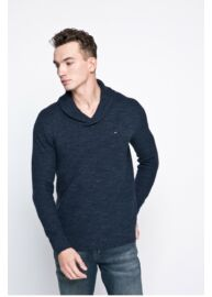 Tommy Hilfiger Denim DM0DM002751 002 Férfi kék kötött pulóver