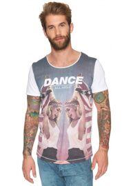 Tom Tailor 1031422 62 12 2000 Dance fehér férfi póló