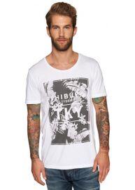 Tom Tailor 1030786 62 12 2000 fehér férfi póló