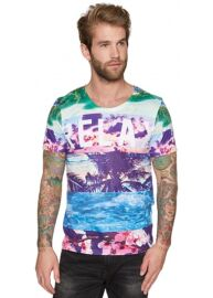 Tom Tailor 100792 04 12 2000 Beach színes póló