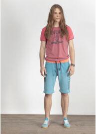 Devergo 1D414038SS0106 férfi feliratos póló