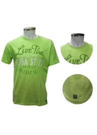 Kitaro 171116 546 Férfi zöld nagyméretű póló