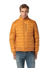 Devergo 1D723030KA1600 50 mustár színű steppelt kabát
