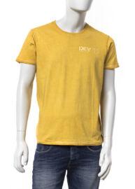 Devergo 1d624022ss0122 49 Férfi sárga póló
