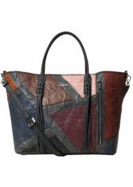 Desigual 19WAXPCI 6044 Női szürke-bordo táska