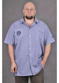 KITARO 1217021 1-Kék férfi rövid ujjú ing