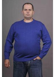 Kitaro 125310 5245 Kék férfi kötött pulóver