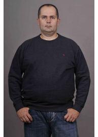 Kitaro 135270 5101 Sötét szürke férfi pulóver Méret: 3XL/60