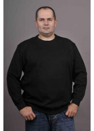 Kitaro 68311 10 Fekete férfi nagyméretű kötött pulóver
