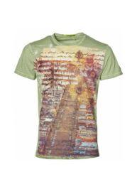 No Excess 76 360205 051 Világoszöld színű férfi póló