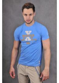 No Excess 6 3 302 030 kék férfi póló