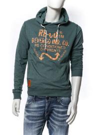 Devergo' 1D524020LS3806 22 férfi kapucnis hosszú ujjú póló