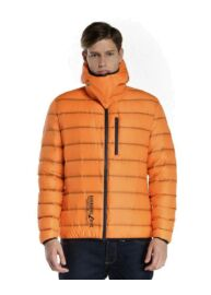 Devergo 1D823014KA1600 43 Férfi narancs színű dzseki