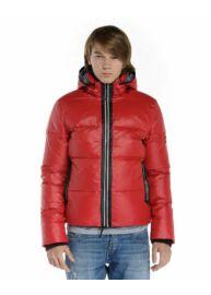 Devergo 1D823031KA1600 39 Férfi piros kapucnis dzseki