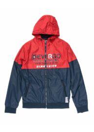 Devergo 1D913011KA1600 14 Férfi regular fit kék-piros kapucnis széldzseki
