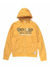 Devergo 1D913011KA1600 50 Férfi regular fit sárga kapucnis széldzseki