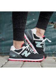 New Balance WL574SLZ Női Pink - Fekete Sportcipő