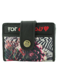 Desigual 40Y5489 2000 mone small wallet jungle night női pénztárca
