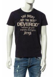 Devergo 1d614063ss0123 14 sötétkék férfi póló