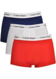 Calvin Klein U2664G IO3 3db-os férfi fehér, piros, sötétkék boxeralsó