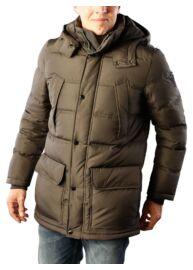 Tommy Hlfiger MW0MW03421 034 khaki férfi téli tollpehely kabát