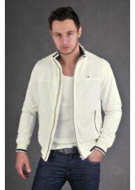 Tommy Hilfiger 887828889 100 tört fehér férfi átmeneti kabát Méret: S