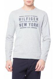 Tommy Hilfiger 08878A0270 501 Férfi szürke hosszú ujjú póló