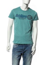 Devergo' 1D514038SS0106 17 férfi basic feliratos póló Méret: XXL