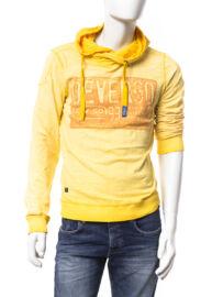 Devergo 1D624048LS3822 49 Sárga férfi hosszú ujjú póló